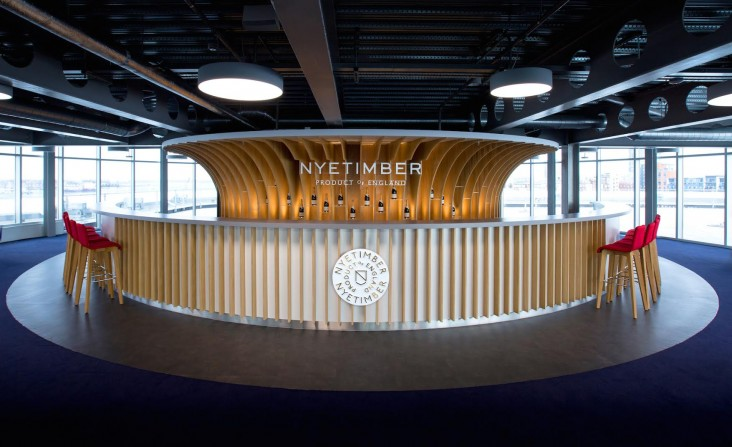 Nyetimber bar in Portsmouth 01
